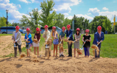 Kent District Library breaks ground on Ada branch