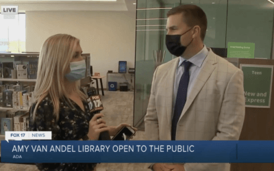 Amy Van Andel Library Now Open to the Public